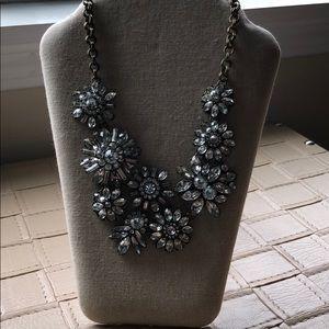Baublebar Crystal Flower Statement Necklace